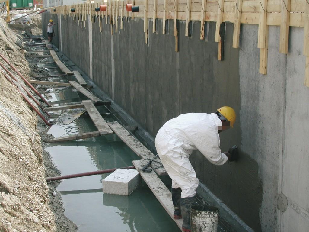 Pamatų apsauga, hidroizoliacija